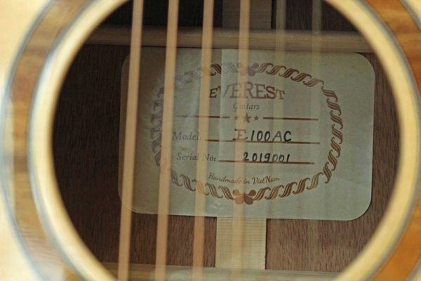 Đàn Guitar Acoustic Everest E100AC 4