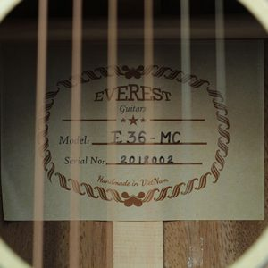 Đàn Guitar Mini Everest E36MC 5